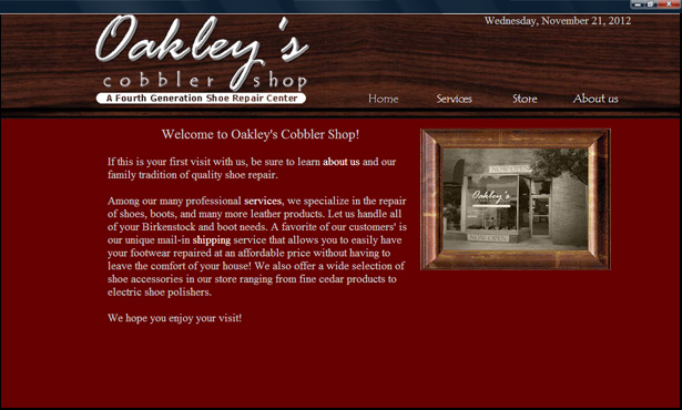 Oakley's Cobbler Shop